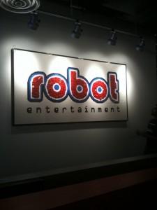 robot logo lego